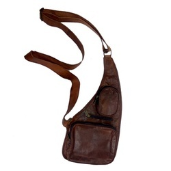 Leather Traveling Waist Pack CHEST104