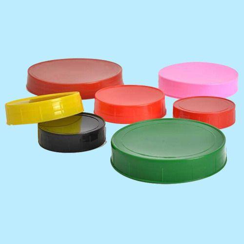 Colored Plastic Lug Cap