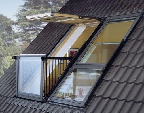 Velux Cabrio Balcony Window At Rs 475000 Sqft Window Id