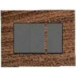 Caprina Series Natural Wood Switch Plate