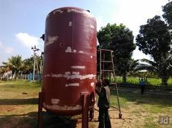 Storage Tank Sandblasting Service