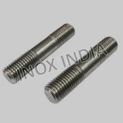 Ss 304 Half Threaded Studs