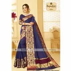 Party wear Isha Fancy Saree, 5.2 M (separate Blouse Piece)