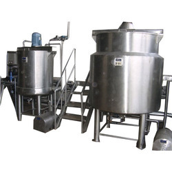 Sugar Syrup Manufacturing Plant.