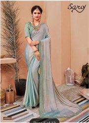 Fancy Designer Chiffon Saree