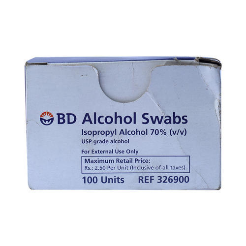 Alcohol Swabs - BD Alcohol Swabs Wholesale Trader from Delhi