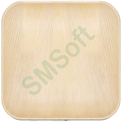 Plain Brown  Areca Leaf Plate