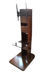 Saatvik Brown Wooden TV Trolley, For Office,Home etc
