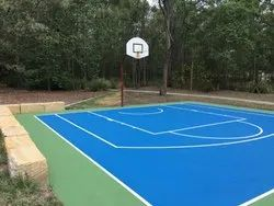 Basketball Sports Synthetic Flooring