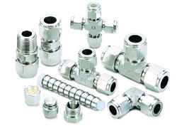 Total Instrument Tube Fitting, Size: 0.5 to 3 Inch