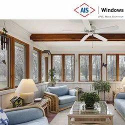 AIS Magnifica Series UPVC Twin Sash Window