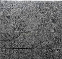 Black Granite Wall Cladding Tiles, Packaging Type: Box