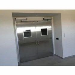 Swing Stainless Steel Hospital Door