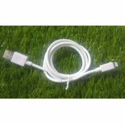 2.4 Amp White iPhone Data Cable