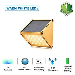 20 Warm LED Solar Sensor Light
