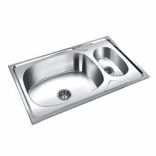 Silver Color Steel Kitchen Sink Mini Bowl