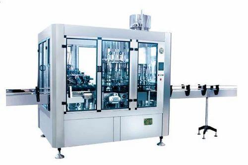 Bottle Filling Machine 120 Bpm Rinsing Filling Capping