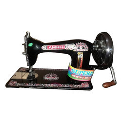 Amrit Stainless Steel Hand Crank Sewing Machine