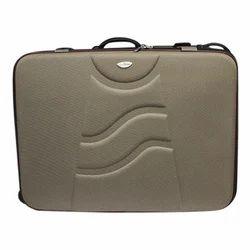 30 Inch Beige PU Suitcase