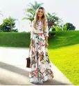 R Nitya Floral Ladies Long Dress