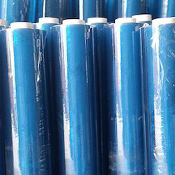 PVC Transparent Blue Ting Clear Sheeting in Roll