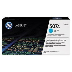 HP CE401A 507A Cyan Toner Cartridge