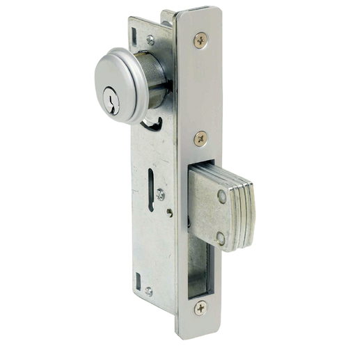 Godrej Aluminum Section Door Lock Chrome Id 17793055133