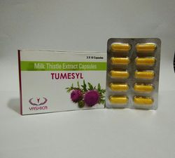 Milk Thistle Extract Capsules, Packaging Type: Alu PVC Blister
