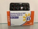 Livealth Biopharma Vitamin D3 Cholecalciferol 2000 Iu Capsule, Capsules, Sugar Free