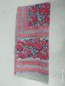 New Print Hand Block Printed Cotton Stole