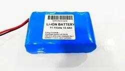 11.1V Lithium Ion Solar Battery Pack
