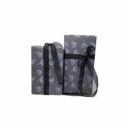 Handmade Light Grey Gift Wrap Paper