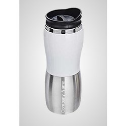 Silver Color Metal Corporate Travel Mugs, Capacity: 450 Ml