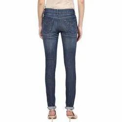 Ladies Indigo Jeans