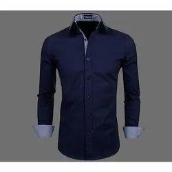 Nishant Cotton Men Plain Casual Shirt