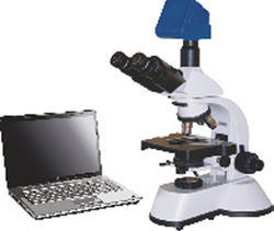 Compound Microscope with Image Analyzer
