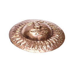 Copper Handcrafted Round Surya