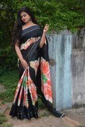 Cotton Printed Party Wear Saree