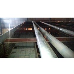 Cement Block Air Recirculation System