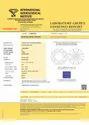 1.56ct Lab Grown Diamond CVD G VVS2 Round Brilliant Cut IGI Certified