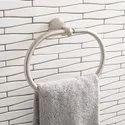 Bathroom And Kitchen Chrome Towel Holder (Oval Shape)
