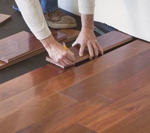 Laminate Flooring Educational Institute 8 mm Wooden Flooring Services, India