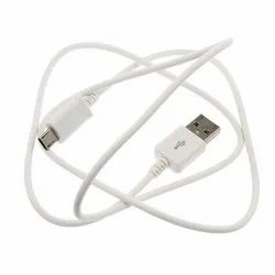 White 80cm Micro USB Data Cable