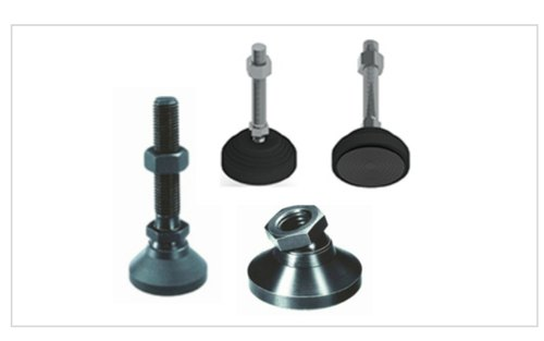 Leveling pad and clamping devices