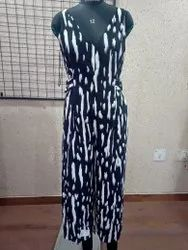 Ladies Printed Jump Suit