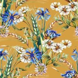 Digital Printed 100% Polyester French Crepe Fabric