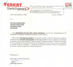 Venkat Switchgears
