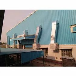 Evaporative Air Cooler Factory Heavy Industry Cooling Service, Material: Plastic