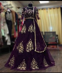 Heavy Work Embroidery Lehenga for Wedding Party