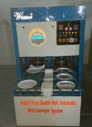 Double Conveyor Full Automatic paper plate machine
